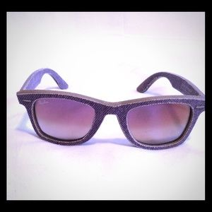 Denim Ray Ban Wayfarer Sunglasses